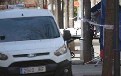 La dona ha mort víctima d'un atac amb arma blanca/ Roger Benet