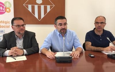 Francisco López (TUS), Gabriel Fernández i Xavier Guerrero | Ràdio Sabadell