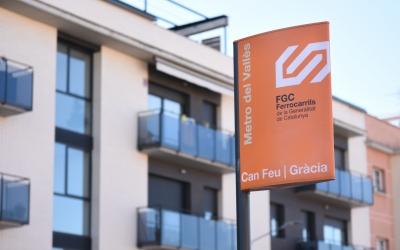 Exterior de Can Feu FGC   Gràcia   Roger Benet