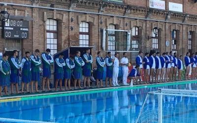 Imatge del partit de la primera volta entre els dos equips