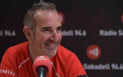 Santi Ramos aquest migdia a l'Hotel Suís de Ràdio Sabadell | Roger Benet