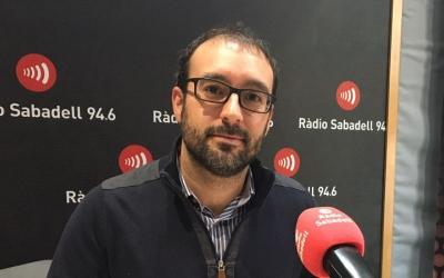Alberto Capitán, director d'Actua Vallès/ Raquel Garcia