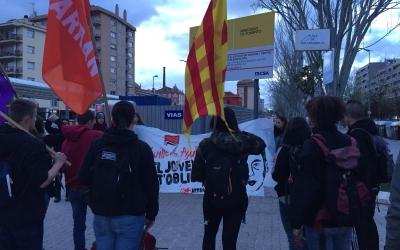 Mobilització d'Arran a plaça d'Antoni Llonch | Ràdio Sabadell
