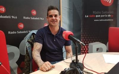 Jordi Pla a l'estudi de Ràdio Sabadell | Raquel García