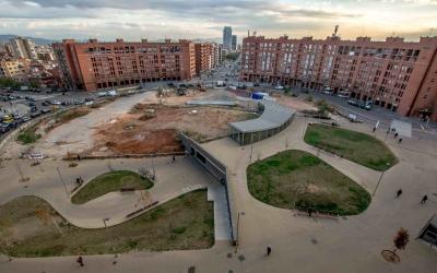 Imatge de plaça Espanya / Roger Benet