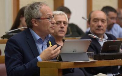 Carles Rossinyol ha presentat la proposta al Ple/ Roger Benet