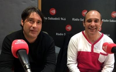 Enrique Rodríguez (CCOO) i José Luis Fernández (UGT)   Mireia Sans