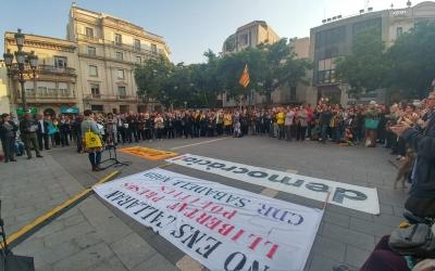Concentració pels presos polítics   Pere Gallifa
