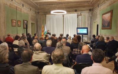 Celebració de l'acte a la Casa Duran | Pere Gallifa