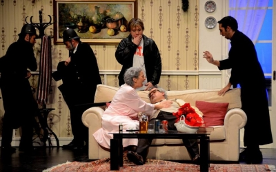 Moment de l'obra al Teatre Principal | Joventut de la Faràndula