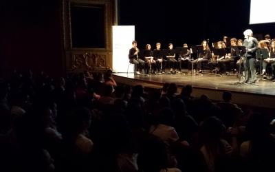 El Teatre Principal acull la XXIV trobada de Corals de Secundària | Pau Duran