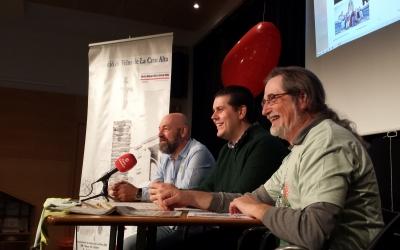 Roda de premsa de l'Associació de Veïns de la Creu Alta | Pau Duran