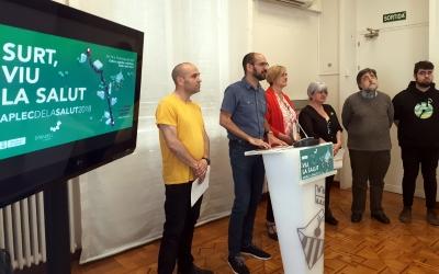 Els tinents d'alcalde i la regidora de cultura han presentat avui els actes de la Salut/ Karen Madrid