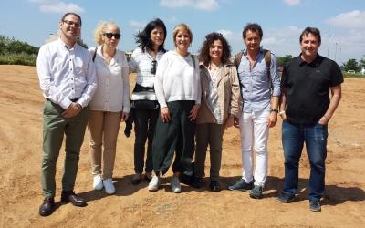 Lourdes Ciuró i el seu equip, a Can Llong | Pau Duran