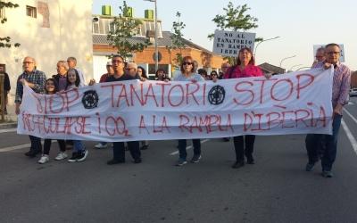 La pancarta que ha obert la manifestació   Pau Duran