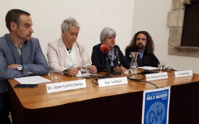 Els responsables dels museus han presentat avui el programa d'actes del Dia Internacional dels Museus/ Karen Madrid