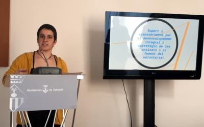 Gloria Rubio ha presentat avui el contingut de la nova oficina/ Karen Madrid