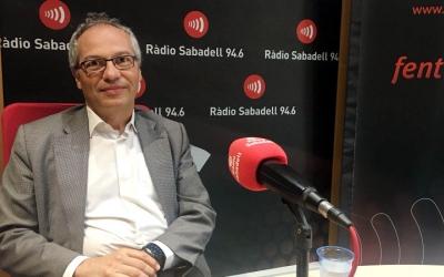Carles Rossinyol, portaveu de CiU a l'Ajuntament