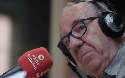 Feliu Formosa als estudis de Ràdio Sabadell | Roger Benet