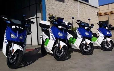 Motocicletes de la policia municipal | Cedida