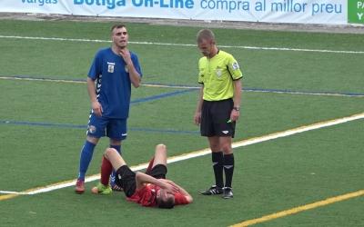 Imatge del competit partit d'anada disputat a Mataró | AEiLL Cerdanyola