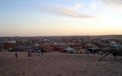 Imatge dels campaments del Tindouf, al Sàhara | SAIS