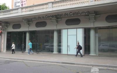 Accés a l'antiga estació Sabadell Rambla   Roger Benet