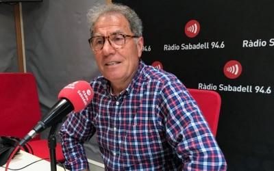 Tanco, un dels fundadors de l'EFS, als estudis de Ràdio Sabadell | Adrián Arroyo