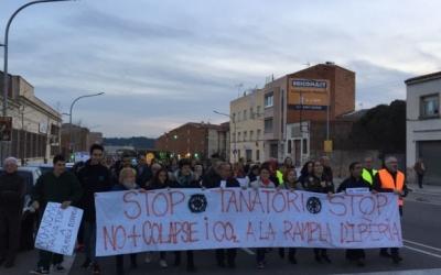 Manifestació contra el tanatori | Arxiu
