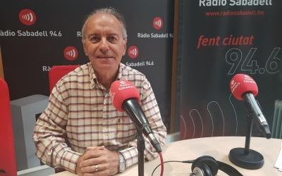 Tomàs Manyosa, membre de l'Esbart Sabadell Dansaire a l'estudi | Raquel García