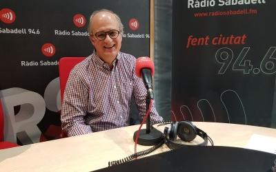 Martínez ha donat les claus de prevenció dels infarts a Ràdio Sabadell/ Raquel Garcia