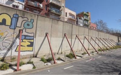 Imatge del mur del carrer de l'Onyar | Roger Benet