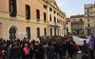 Concentració a la plaça de Sant Roc | Ràdio Sabadell