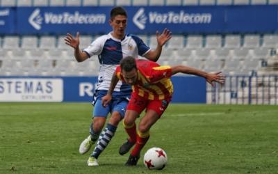 Sergio Montero ha debutat avui a la Segona B | Sandra Dihör