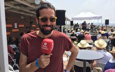 Arnau Solsona a l'últim vermut de l'Embassa't | Ràdio Sabadell