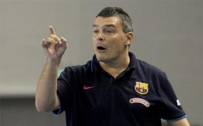 Xavi Pasqual, tècnic del primer equip del Barça Lassa d'handbol | Sport