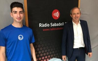 Iván Ruiz i Pere Weisz als estudis de Ràdio Sabadell | Adrián Arroyo