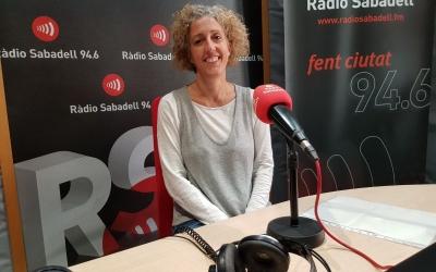 Carme Partera a Ràdio Sabadell | Raquel Garcia