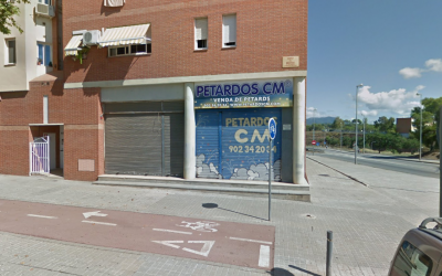 Botiga de petards afectada   Google Maps