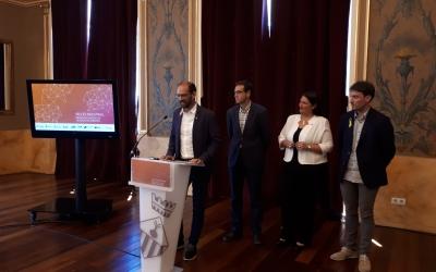 Els alcaldes dels municipis participants en el projecte l'han presentat avui/ Karen Madrid