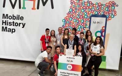 Els guanyadors de l'Institu Agustí Serra | Cedida