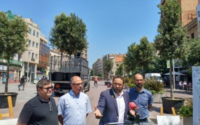 El govern presentant el Passeig definitiu | Pere Gallifa