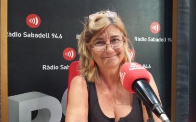 Tere Ibáñez, a Ràdio Sabadell | Pau Duran