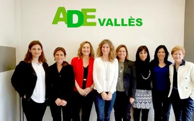 La junta d'Ade Vallès al Parc Tecnològic, seu de l'entitat | Cedida