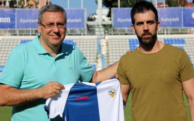 Toni Cáceres i Pablo Becerril presentats a la Nova Creu Alta