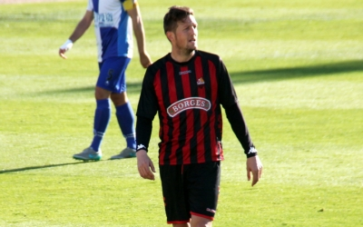 Edgar durant la seva última visita a la Nova Creu Alta com a jugador del Reus | Jesús Arroyo