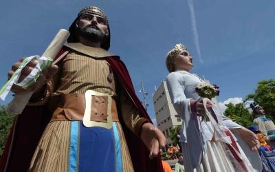 Una parella dels Gegants de Sabadell | Roger Benet