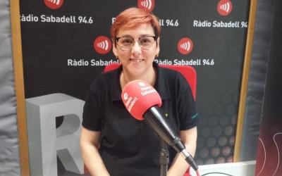 Bea Jiménez, cap de colla dels Castellers de Sabadell | Pau Duran