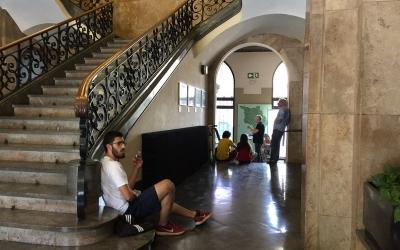 Segueix l'ocupació del consistori | Ràdio Sabadell