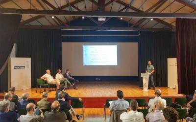 Serracant presentant el Pla de projecció internacional | Pere Gallifa